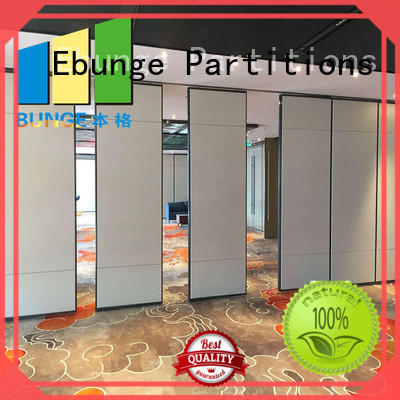 EBUNGE movable partition wall directly sale for conference room