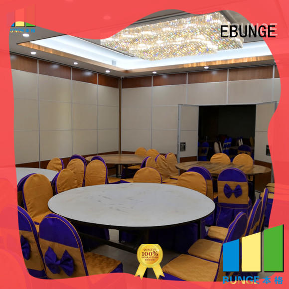 movable interior walls for exhibition centers EBUNGE
