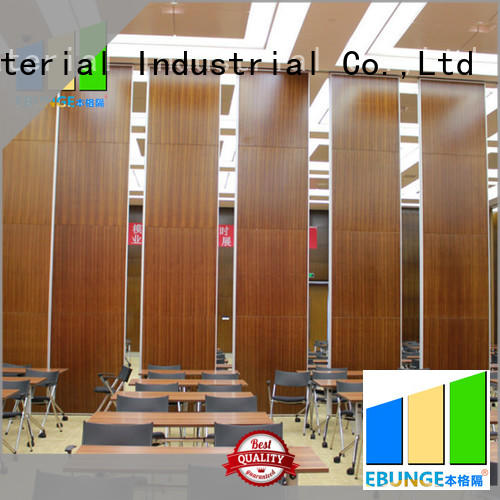 EBUNGE folding partition walls for home factory direct supply for banquet hall