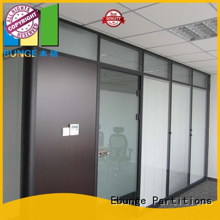 flexible toughened glass partition manufacturer for shop