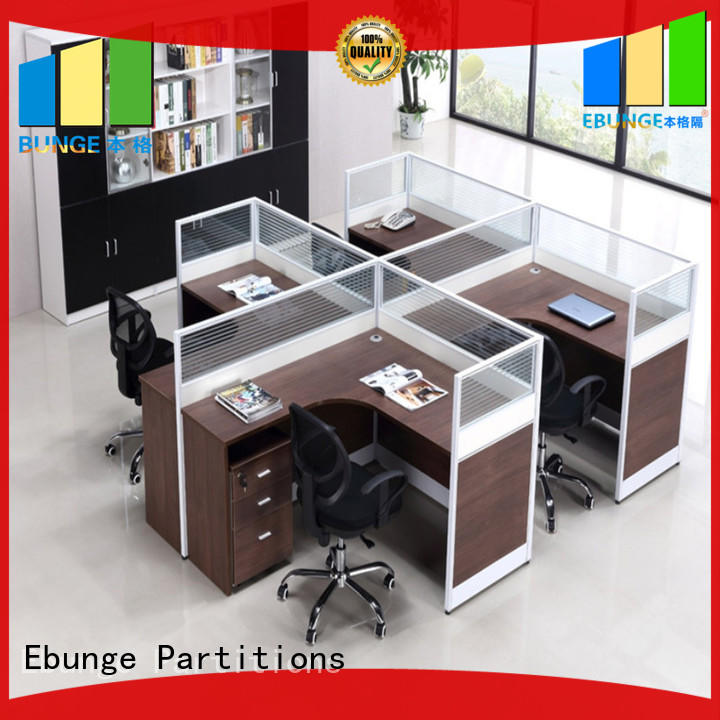 EBUNGE contemporary workstation furniture factory direct supply for bank