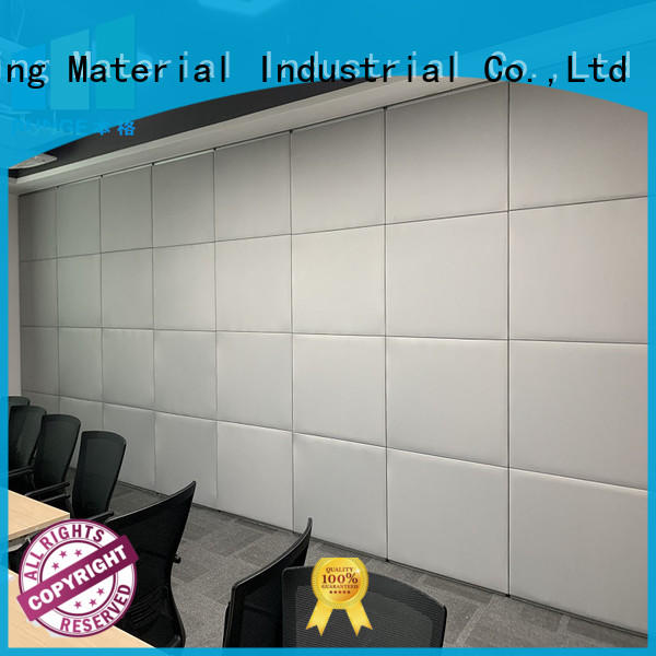 EBUNGE decorative partition wall material supplier for work