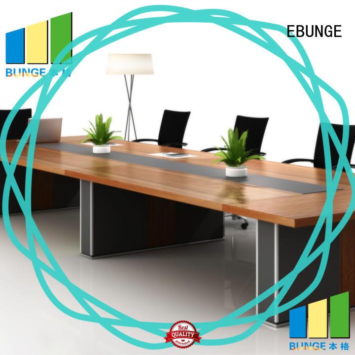 EBUNGE melamine contemporary office desk series for meeting room