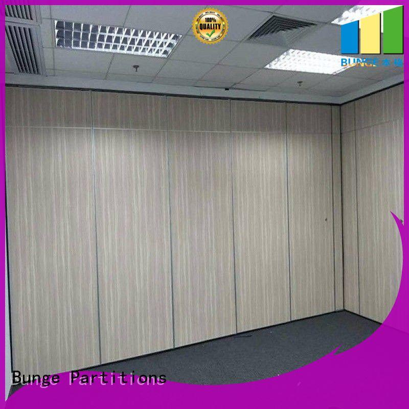 BUNGE style movable partitions