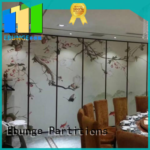 EBUNGE real folding room dividers supplier for conference room