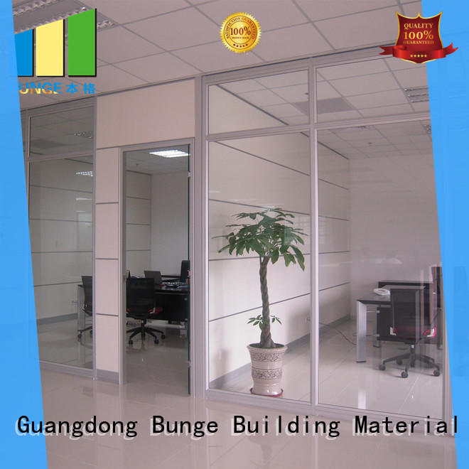 decorative office design glass walls supplier for conference room
