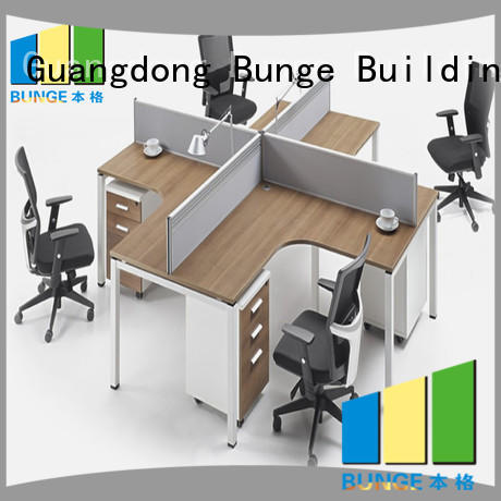 staff direct secretary office partitions Bunge Brand company