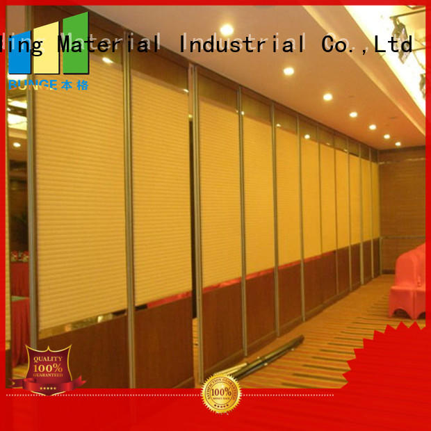 EBUNGE conference sound proof partition wall wholesale for hotel