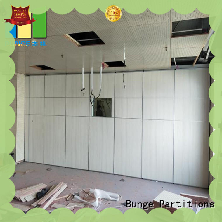 EBUNGE acoustic movable walls series for restaurant