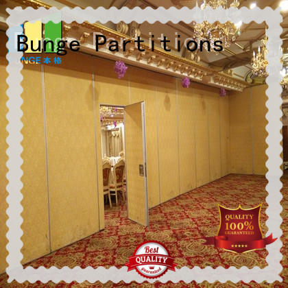 EBUNGE practical acoustic operable walls manufacturer for office