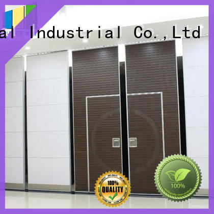 wooden folding partition factory direct supply for conference room EBUNGE