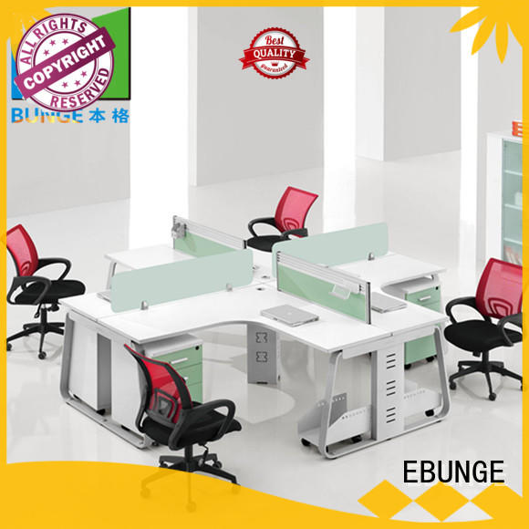 EBUNGE wooden office computer table supplier for boardroom