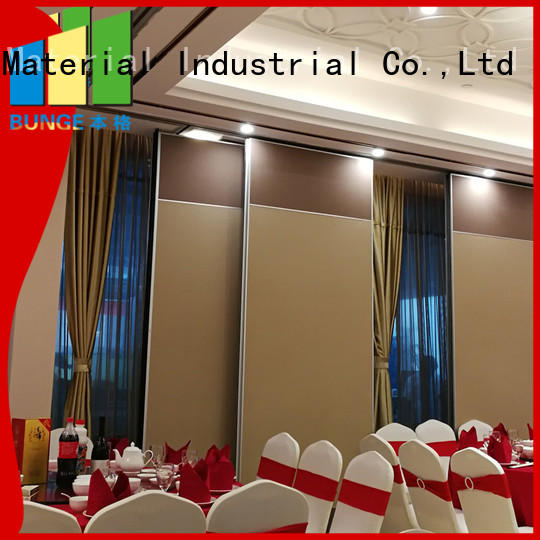 room soundproof operable partition walls flexible Bunge Brand company