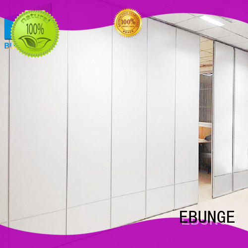 EBUNGE movable walls series for restaurant