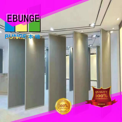 EBUNGE aluminum hall partition factory for banquet hall