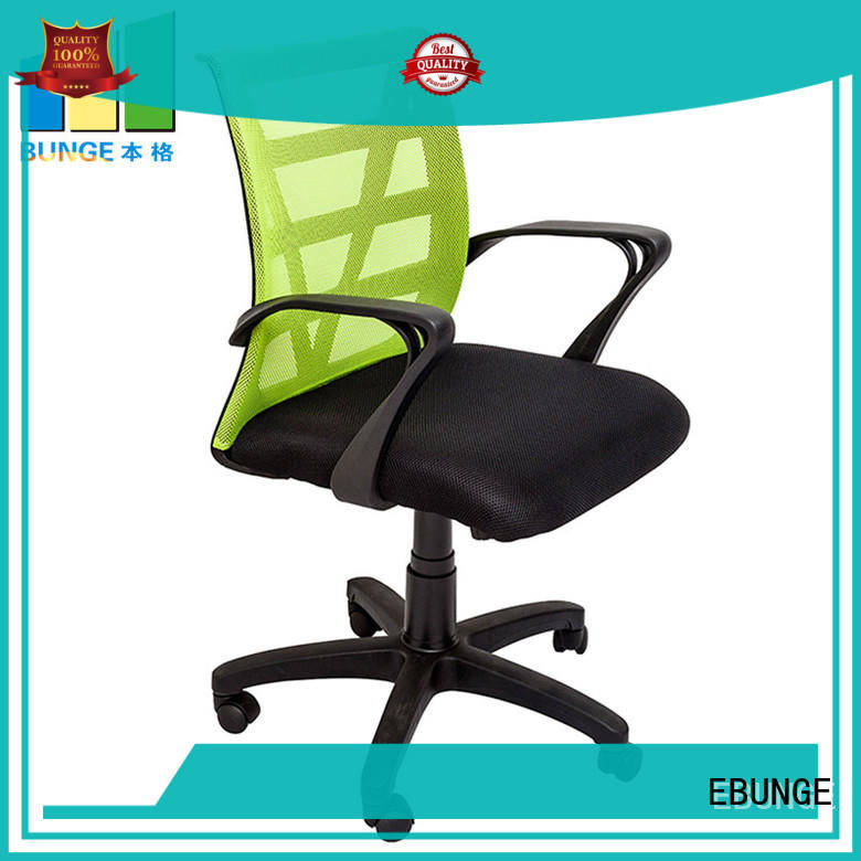 EBUNGE pu pc workstation desk from China for conference room