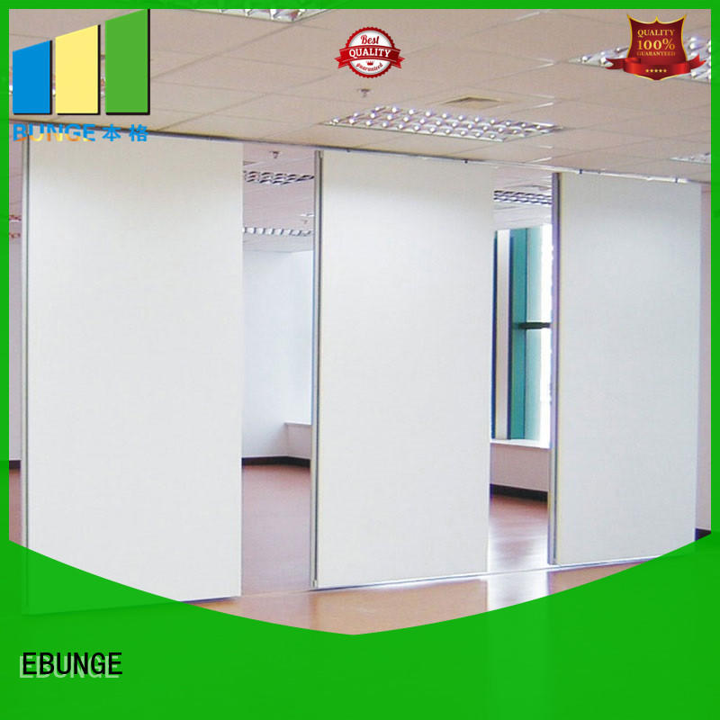 fireproof partition wall design factory for meeting room