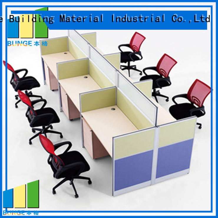 furniture face office partitions melamine Bunge Brand