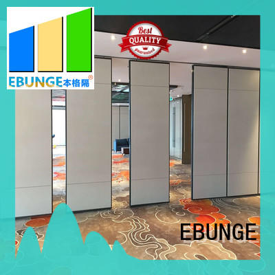 EBUNGE portable wall partitions customized for work