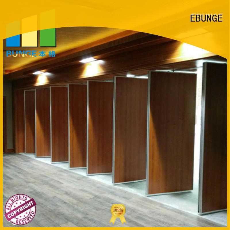EBUNGE modern wall partition with door factory direct supply for conference room