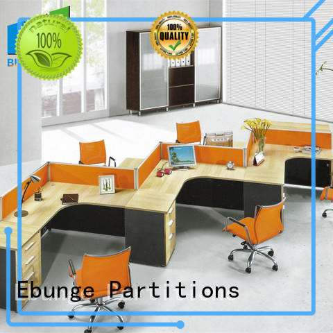 EBUNGE pu contemporary office desk directly sale for boardroom
