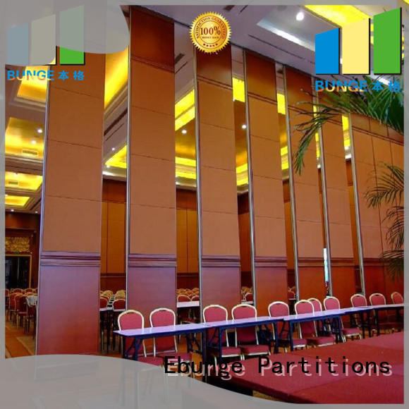 EBUNGE hall divider supplier for office
