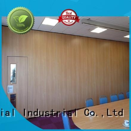 MDF movable room dividers customized for banks