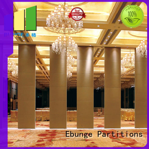EBUNGE movable partition wall manufacturer for conference room