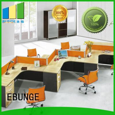 wooden workstation furniture directly sale for bank