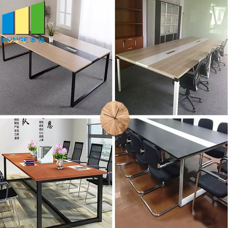 melamine office conference table factory for boardroom-1
