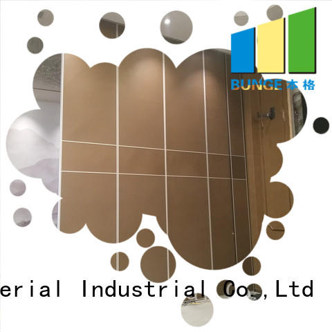 room operable retractable folding wall Bunge Brand company