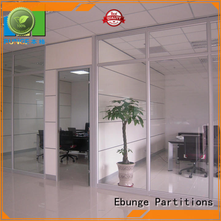 EBUNGE toughened glass partition manufacturer for banquet hall