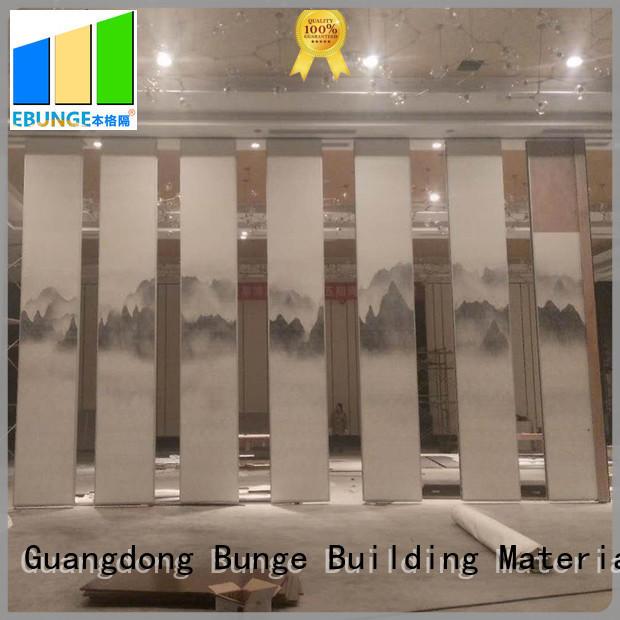 EBUNGE convenient sliding partition doors customized for banquet halls