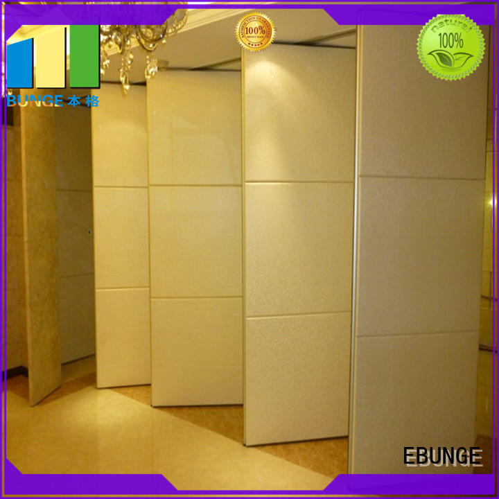 sliding room dividers customized for banks