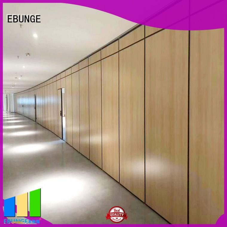 EBUNGE durable movable partition wall factory direct supply for shop