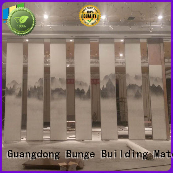 sliding room dividers series for exhibition centers EBUNGE