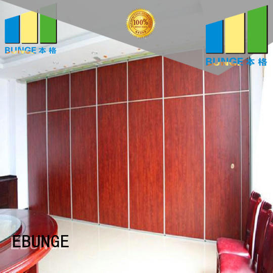 EBUNGE professional partition wall design factory for meeting room