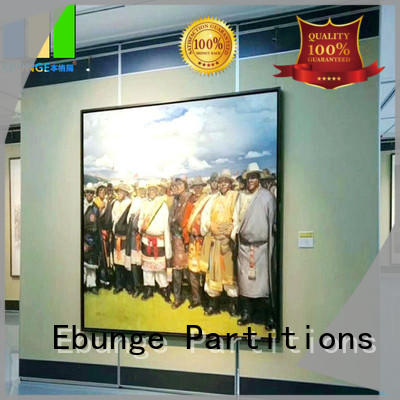 EBUNGE soundproof movable partition wall manufacturer for shop