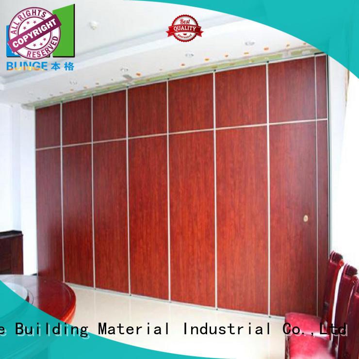 BUNGE foldable partition doors