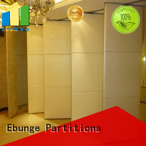 EBUNGE hot selling sliding room dividers directly sale for banks