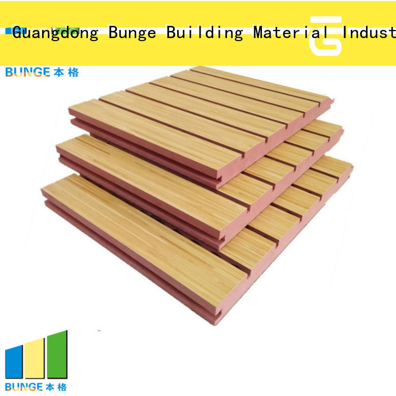 Bunge Brand music sound absorbing panels sound factory