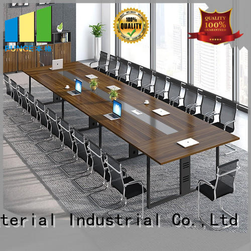 EBUNGE wood conference tables manufacturer for boardroom